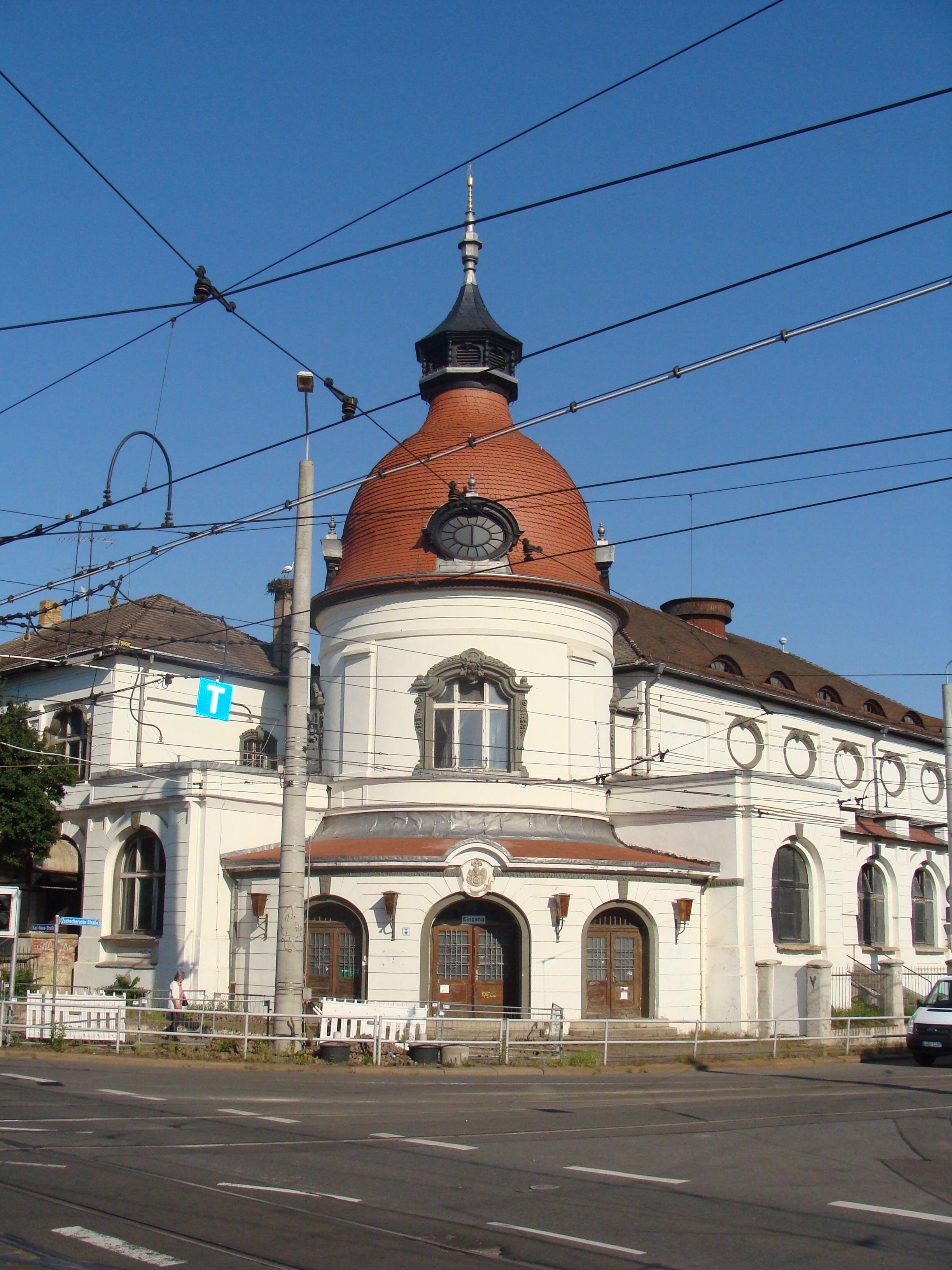 Gebäude Felsenkeller Leipziger Westen