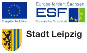 Logos Stadt Leipzig, Europäischer Sozialfonds