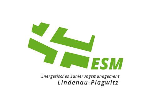 Logo Energetisches Sanierungsmanagement Lindenau-Plagwitz