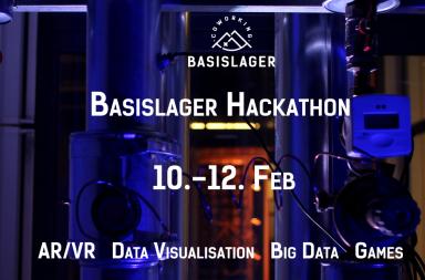 Flyer BASISLAGER Hackathon