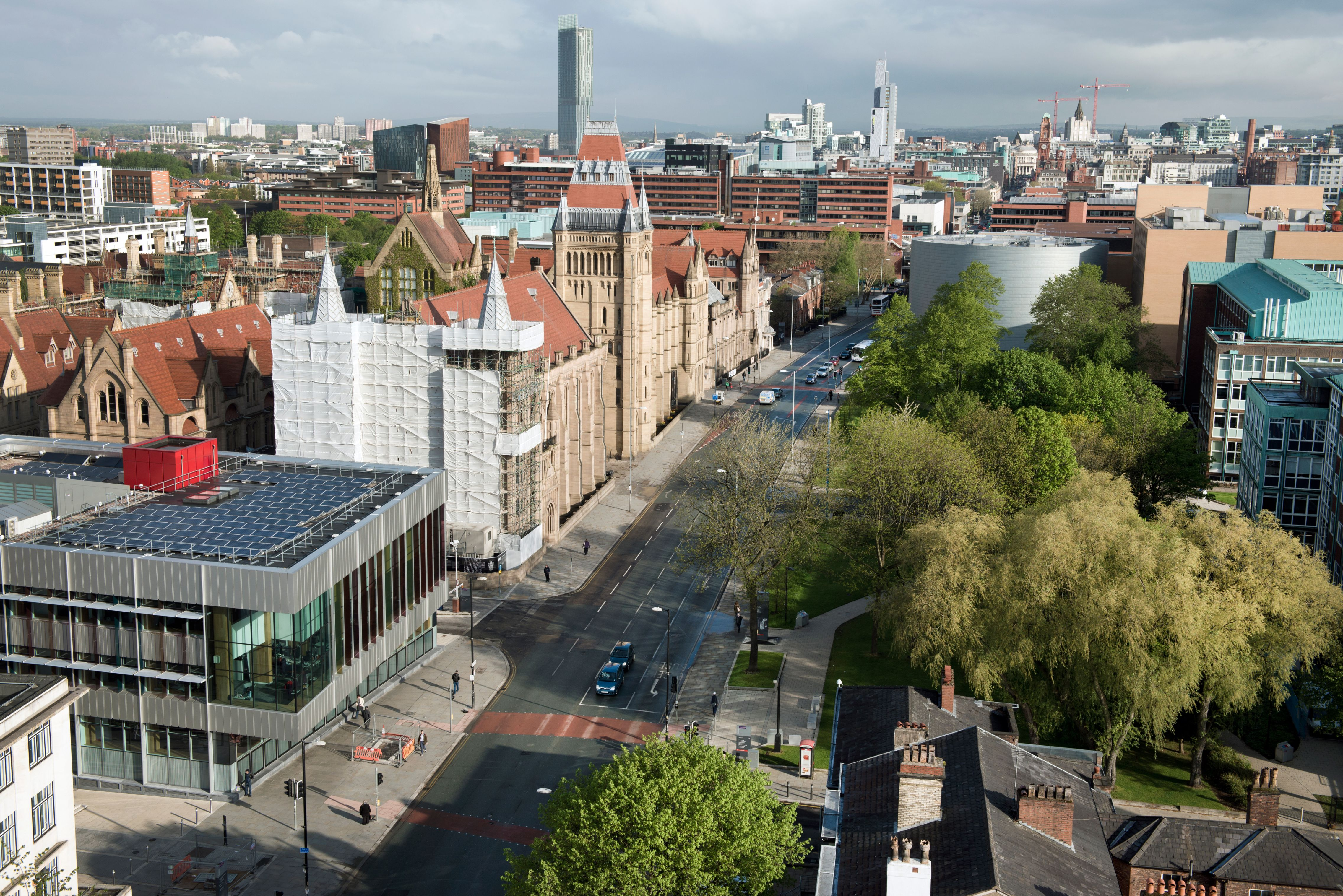 Panorama Foto von Manchester