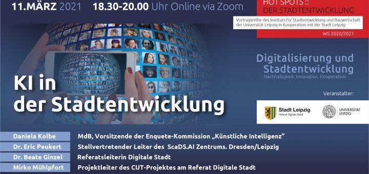 Flyer mit Infos zur 4. Veranstaltung HotSpots, Infos können alle dem Artikel entnommen werden